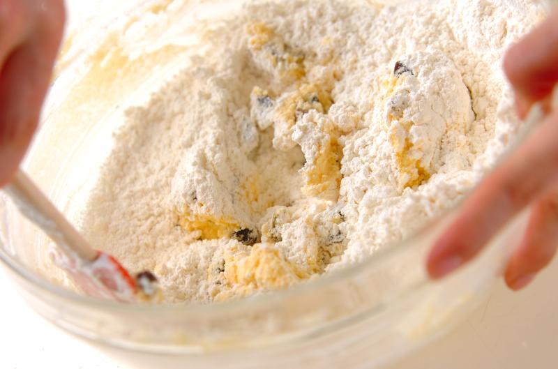 レーズンクッキーの作り方の手順6