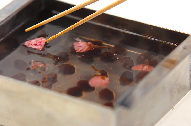 桜寒天の作り方の手順5