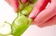 豆腐とエビの塩炒めの作り方の手順3