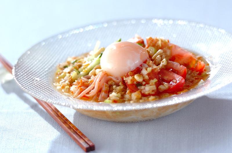 コンニャク冷麺の作り方の手順