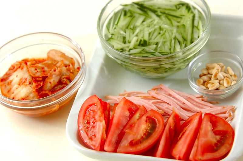 コンニャク冷麺の作り方の手順2