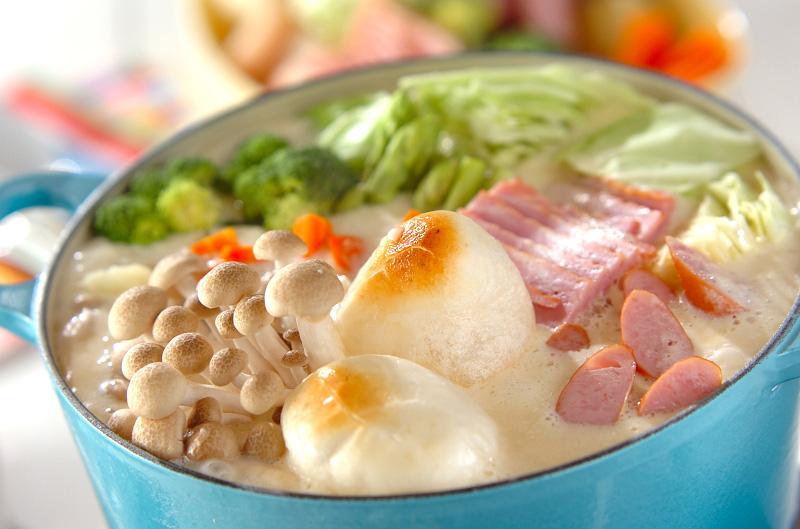 京風チーズ鍋