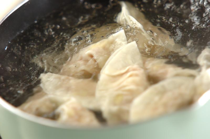 豆モヤシ入り水餃子の作り方の手順5