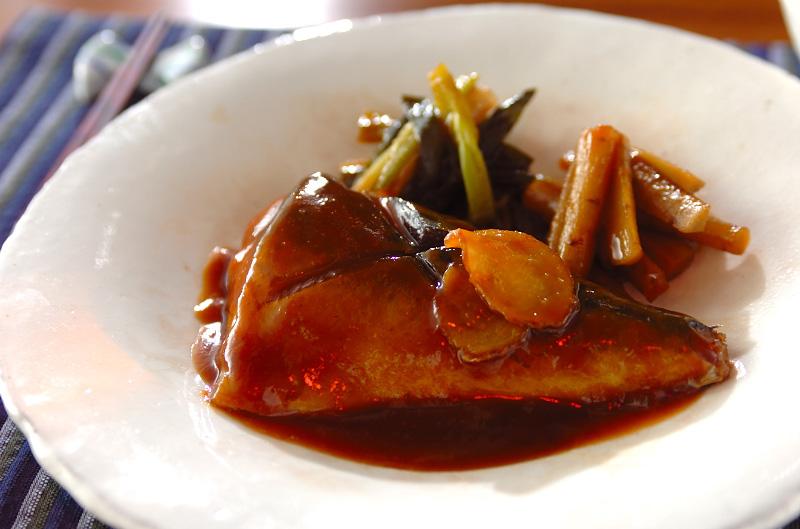鯖の味噌煮の作り方の手順