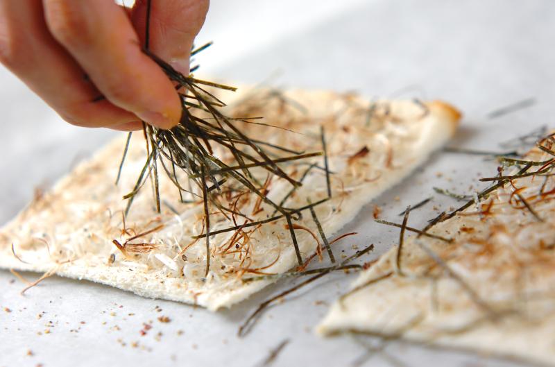 ジャコネギピザの作り方の手順4