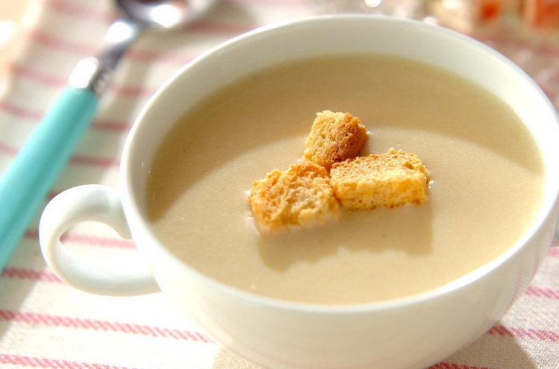 サツマイモのスープ