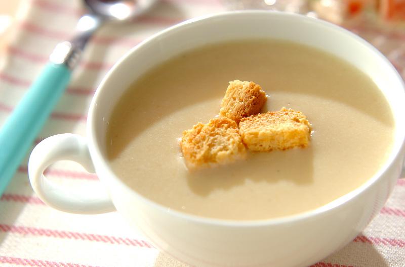サツマイモのスープの作り方の手順