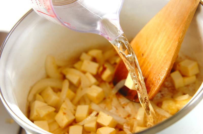 サツマイモのスープの作り方の手順3