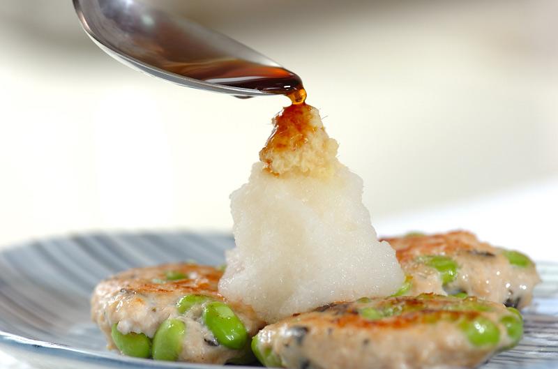 サッパリ枝豆入りつくねの作り方の手順7