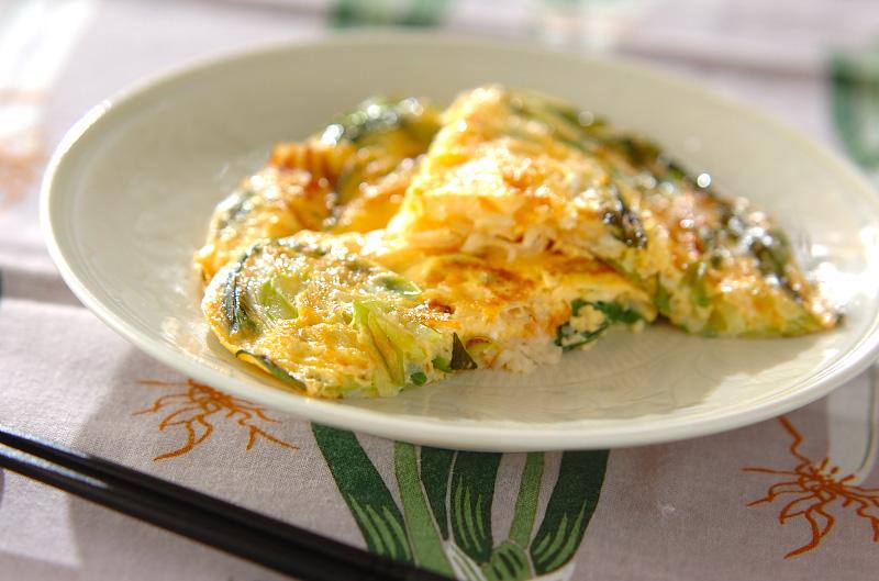 白ネギ、九条ネギの卵とじ【E・レシピ】料理のプロが作る簡単レシピ/2010.02.08公開のレシピです。