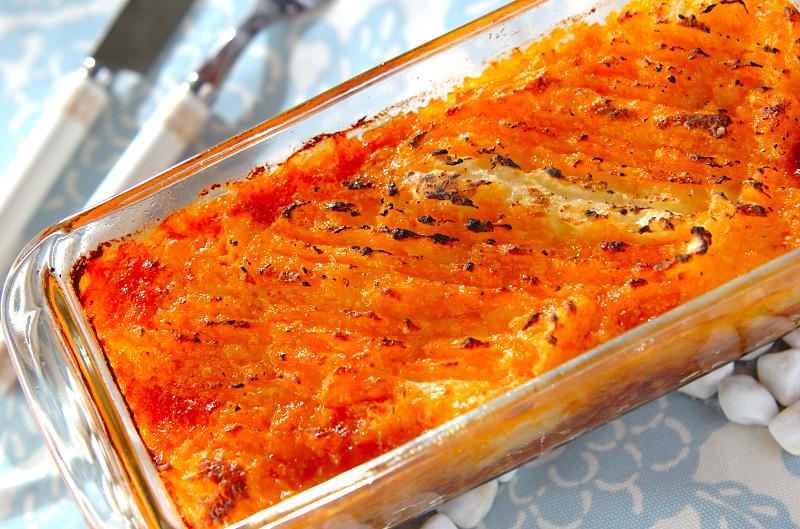 ジャガイモのピューレとひき肉のグラタン(アッシパルマンティエ風)の作り方の手順