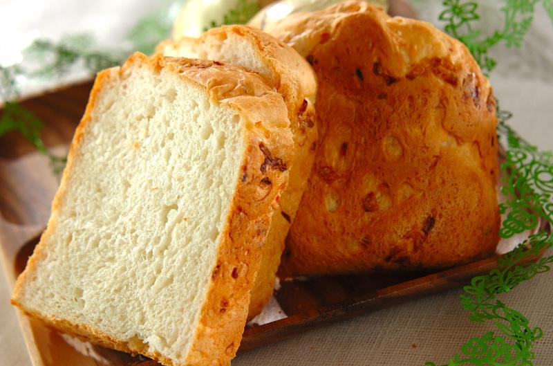 新玉ネギの食パン