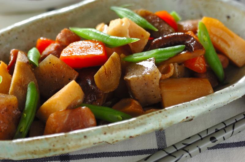 鶏もも肉と根菜の煮物【E・レシ...