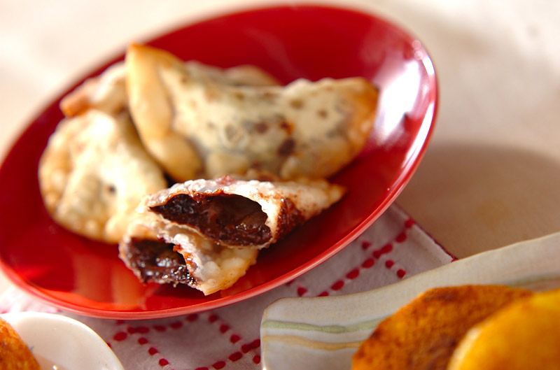 ユズジャムの揚げ菓子