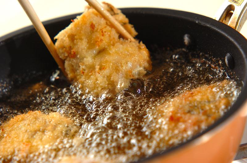 イワシのチーズフライの作り方の手順6