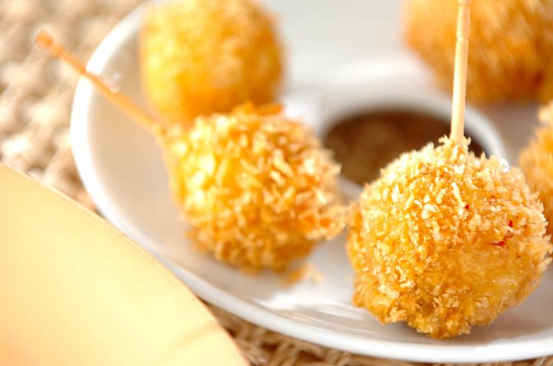 ウズラの卵のカレーフライ【E・レシピ】料理のプロが作る簡単レシピ/2008.05.26公開のレシピです。