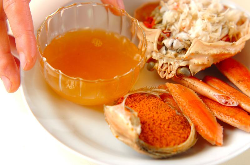 ゆでカニのオレンジソース添えの作り方の手順6
