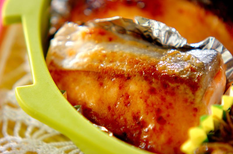 鮭のみそマヨ焼き