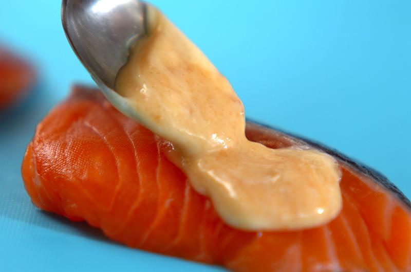 鮭のみそマヨ焼きの作り方1