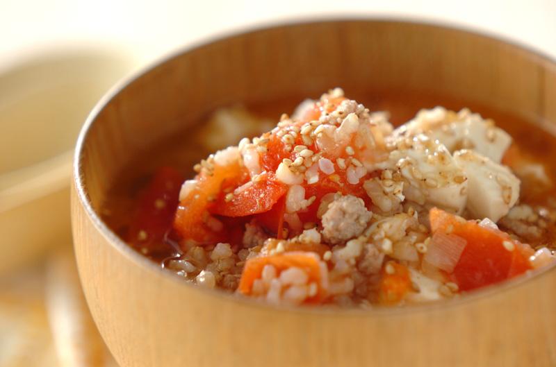 サッパリトマト中華ご飯