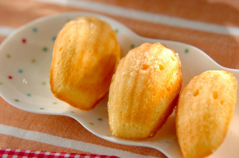 レモンマドレーヌの作り方の手順