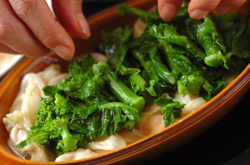 菜の花のグラタンの作り方の手順9