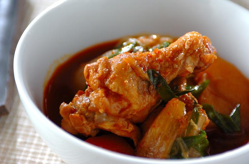 炊飯器でタットリタン(韓国風旨辛煮)