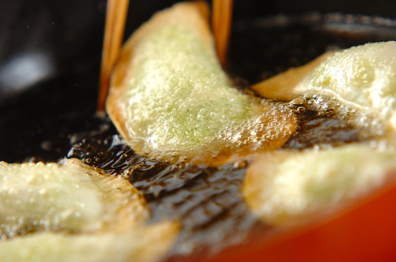 アボカドの揚げ餃子の作り方の手順6