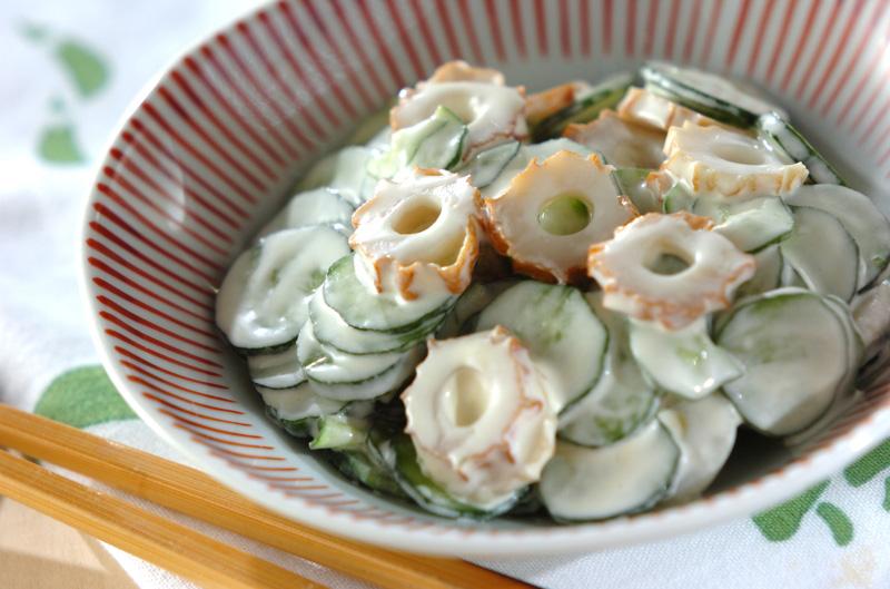 ちくわとキュウリのマヨ和え【E・レシピ】料理のプロが作る簡単レシピ/2013.04.26公開のレシピです。