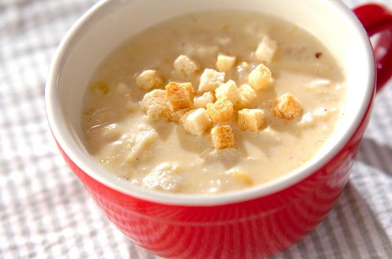 しゃきしゃき食感《えのきのスープ》お好みの味で堪能して♪