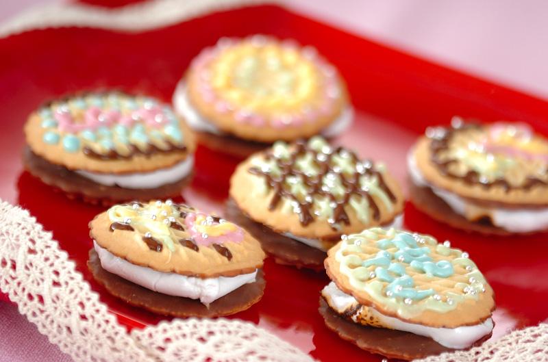 マシュマロサンドクッキー