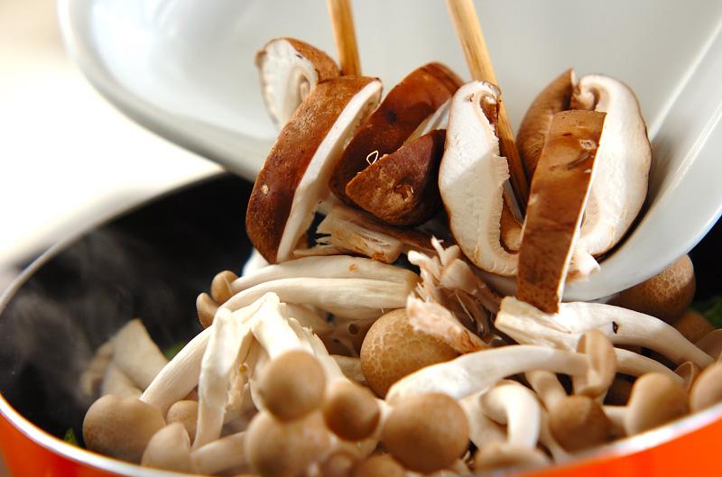 炒めキノコのマリネの作り方の手順4