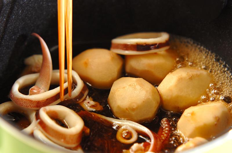 イカと里芋の煮物の作り方の手順6