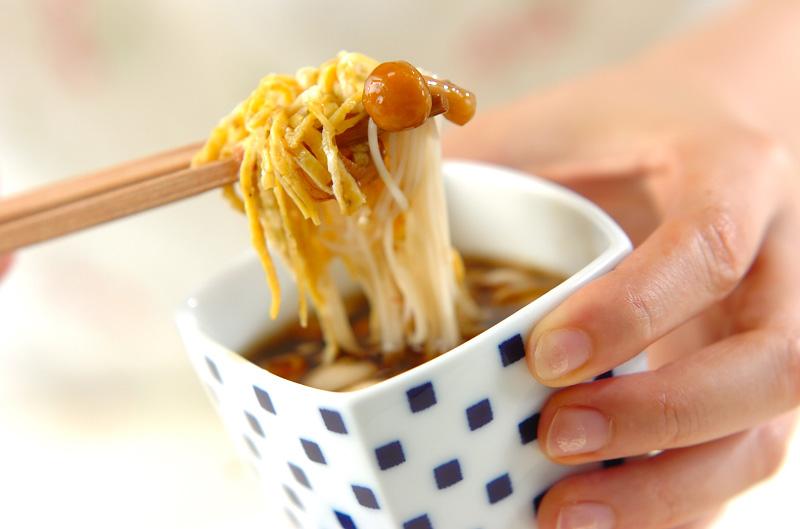 たっぷりキノコののり素麺の作り方の手順7