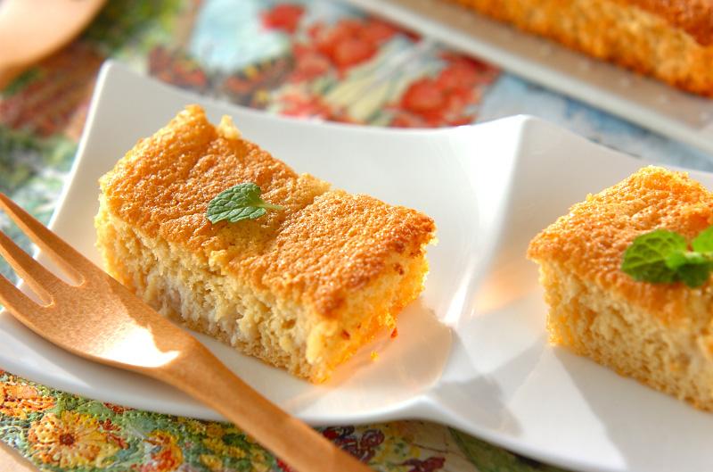 しっとり☆おからケーキの作り方の手順