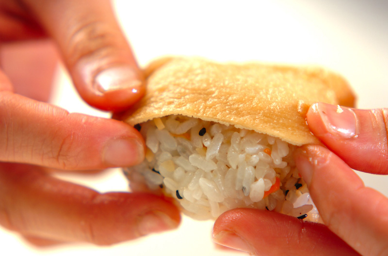 いなり寿司の作り方の手順9