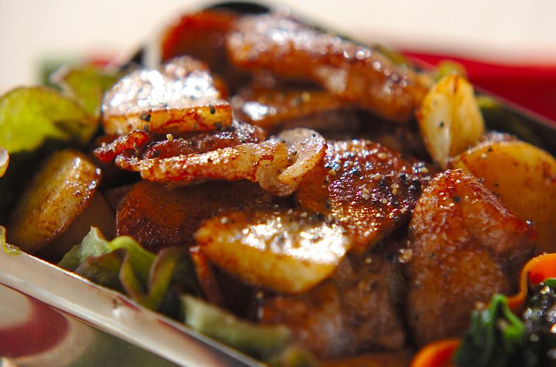 豚肉の甜麺醤炒めの作り方の手順