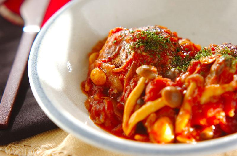 ハンバーグ トマト ソース