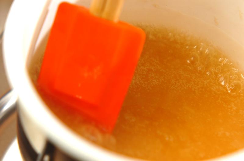 カニ缶の卵丼の作り方の手順5