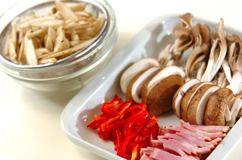 ゴボウのピリ辛炒めの作り方の手順1
