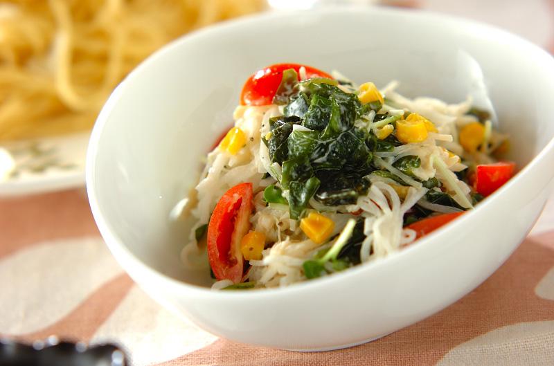 大根とホタテの混ぜまぜサラダの作り方の手順