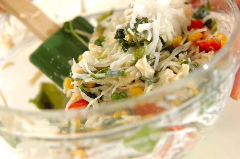 大根とホタテの混ぜまぜサラダの作り方の手順8