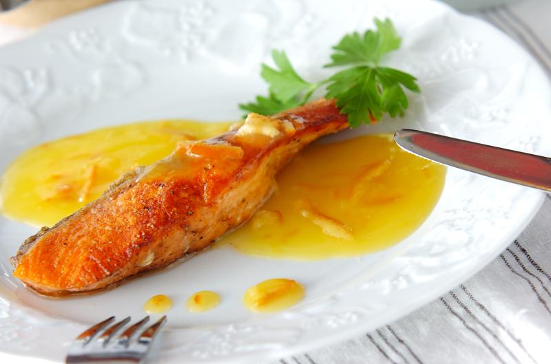 魚のムニエル