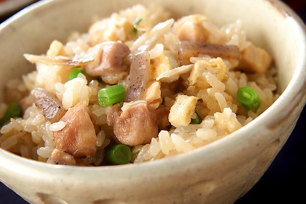 鶏五目の味わい炊き込みご飯