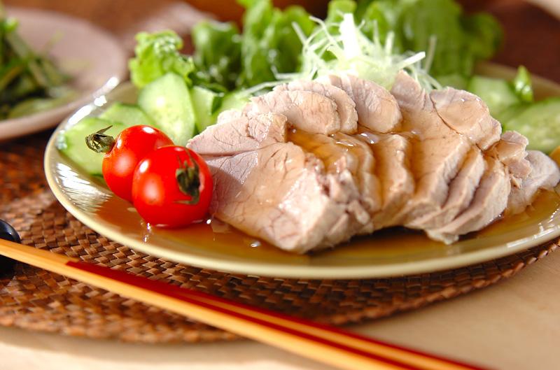 あんかけゆで豚の作り方の手順