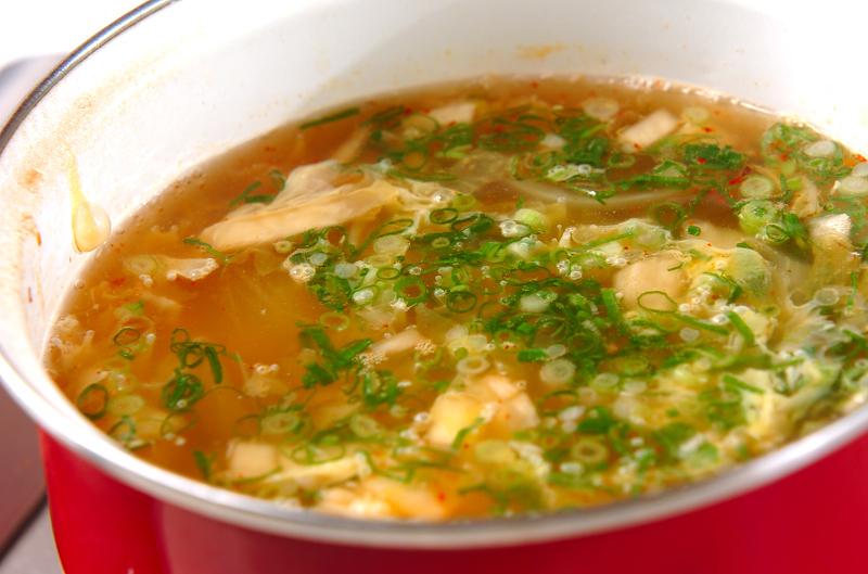 キムチスープの作り方の手順7
