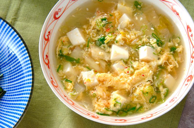 キムチスープの作り方の手順