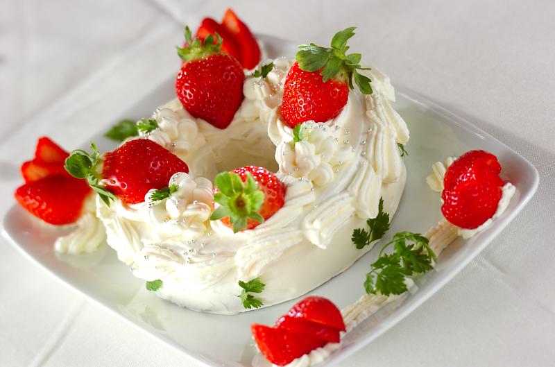 簡単ショートケーキ
