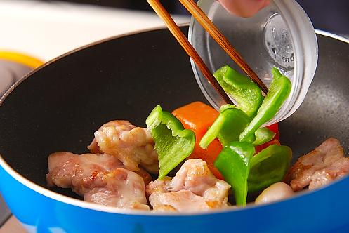 鶏肉のみそ炒めの作り方の手順3