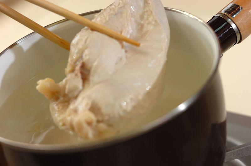 サツマイモと鶏肉のハニーマスタードの作り方の手順2